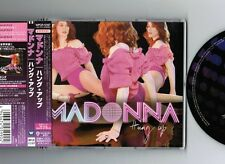 "NM! MADONNA Hung Up JAPAN 3-track 5"" CD SINGLE WPCR-12187 w/Obi+PS"