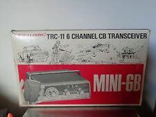 Vintage Realistic Radio Shack TRC-11 Mini 6 Channel CB Radio New in Box