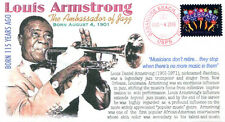 COVERSCAPE computer designed 115th anniversary birth of Louis Armstrong cover