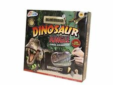 CHILDS KIDS DIG & DISCOVER DINOSAUR JUNGLE FOSSIL EXCAVATION PLAY SET R03-0049