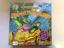 Brand New Sealed Scholastic Goosebumps Welcome To Horrorland Game