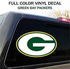 "Green Bay Packers Window Decal Graphic Sticker Car Truck SUV - 12"" wide"