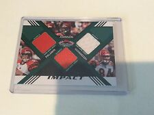 2008 STADIUM CLUB PALMER JOHNSON HOUSHMANDZADEH TRIPLE JERSEY 38/50