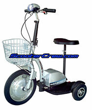 3 Wheel Electric Powered EV Trike SCOOTER mo-ped mobility RMB Flex 500 Watt E