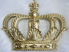 CROWN WALL DECOR HOME Royal KING QUEEN PRINCESS NEW | MATTE GOLD | **ONLY ONE**