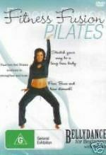 Fitness Fusion - Pilates - Bellydance For Beginners New DVD Region 4 Sealed