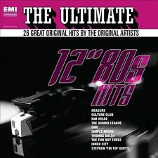 "The Ultimate 12"" 80s Hits New CD"