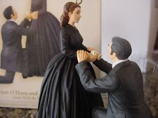 SCARLETT O'HARA  & RHETT BUTLER Gone with the Wind  Hallmark 2006 ORNAMENT  MIB