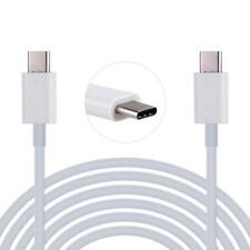 2M USB-C USB 3.1 Type C Male to Male Data Sync Charging Cable For Mac White
