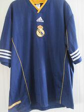 Real Madrid 1998 formación Camiseta De Fútbol Talla Xl / 38083