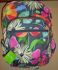 New Girls VERA BRADLEY Lighten Up Campus Backpack Bookbag Jazzy Blooms Floral