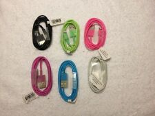 USB CABLE FOR IPHONE 5 & 6 CHARGER 3 FT LONG SPECIFY COLOR#83200