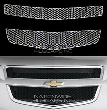 09-12 Chevy TRAVERSE CHROME Snap On Grille Overlay Grill Cover Front Trim Insert