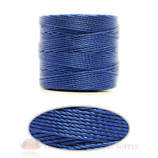 Capri Blue 77 Yds. Super-Lon #18 Beading Crafting Stringing Crochet Cord