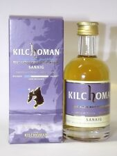 Kilchoman Sanaig Whisky 50 ml 46% mini flasche bottle miniature bottela