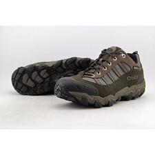 Oboz Tamarack Men US 9.5 Brown Walking Shoe Pre Owned  1631