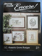 Stoney Creek Cross Stitch Patterns - 27 Animal Designs by Jeanette Crews #8106