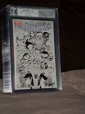 Amazing Spider-Man #1 Maguie Sketch Variant PGX SS 9.8 Ogre Maguire 2014 CGC