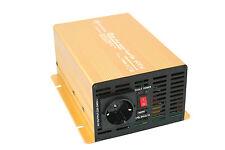 Spannungswandler Wechselrichter 600 1200 Watt 24V 230V reiner Sinus Inverter GE