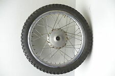 Kawasaki KM100 KM 100 #5270 Front Chrome Wheel & Tire