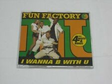 Fun Factory I wanna b with u (1995, #2441355) [Maxi-CD]