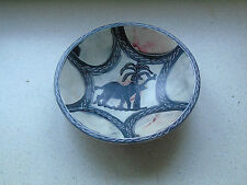 Stone Hand Painted Bowl