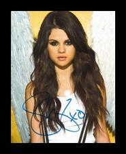 SELENA GOMEZ AUTOGRAPHED SIGNED & FRAMED PP POSTER PHOTO