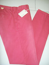 Gant Rugger Linen Cotton Canvas Chino Pants NWT 29 x 34 $165 Nantucket Red