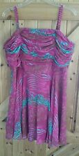 """New By South Party Dress Size 18 Ideal Wedding Guest. Party Frock Chest 40""""-42"""""""