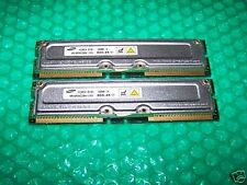 512MB SAMSUNG PC800-45 RDRAM RIMM non-ECC, TESTED