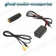 Bluetooth AUX Auxiliary Adaptor Lead Cable Music Streaming for Fiat Grande Punto