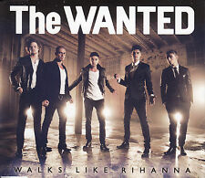 THE WANTED Walks Like Rihanna 2013 UK 1-trk promo CD
