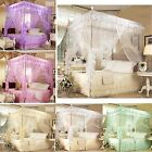 Lace Four Corner Post Bed Canopy Mosquito Netting King Queen Single All Sizes