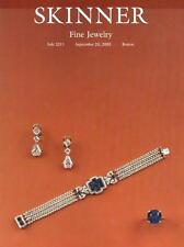Skinner Sale 2211 Fine Jewelry Auction Catalog 2003