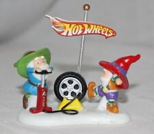 Department 56-NORTH POLE SERIES-Hotwheels Lets Give It A Spin-ORIGINAL BOX#56441