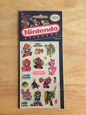 Rare Vintage Mello Smello Nintendo Mario, Luigi, Birdo, Link 1989 Body Stickers
