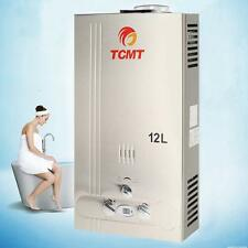 12L Natural Gas Instant Hot Water Heater 3.2GPM Home Bathroom Bolier Tankless