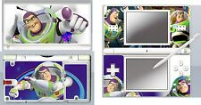 nintendo DS Lite - BUZZ LIGHTYEAR - 4 Piece Decal Sticker Skin vinyl
