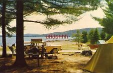CAMPING OUT IN ALGONQUIN PROVINCIAL PARK, ONTARIO CANADA