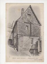 Mont Saint Michel Maison du XVe Siecle France Vintage U/B Postcard 401b