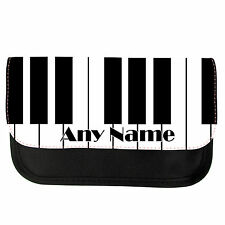 PERSONALISED PIANO SCHOOL GIRLS BOYS PENCIL CASE/MAKE UP BAG BIRTHDAY XMAS