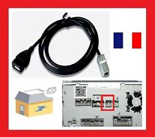 fashion Car USB AUX MP3 Audio Input câble for Toyota Camry RAV4 Mazda CX-5/M2