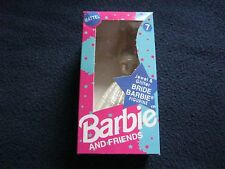 Mattell Vintage Barbie & Friends Figure #07 Jewel & Glitter Bride Brand New