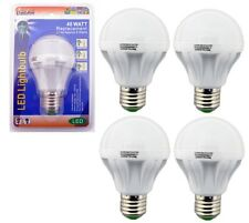 4 Pack 5 Watt LED 110V Light Bulbs = 40 Watt Replacement Energy Saving 80% Bulb