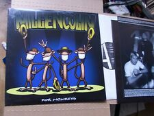 MILLENCOLIN,FOR MONKEYS lp m(-)/vg+ Innersleeve+Textblatt m(-) burning heart rec