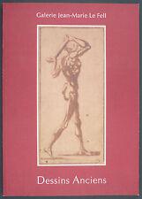 CATALOGUE DE VENTE LE FELL N°5 2003 - DESSINS ANCIENS - DONT MUCHA PLEINE PAGE
