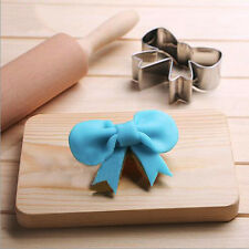 Bow Stainless Steel Biscuit Mold  Cookie Cutter  Baking Tool