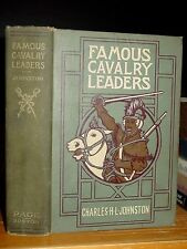 1910 Famous Cavalry Leaders, Attila, Genghis Khan, Marshal Ney Jeb Stuart Custer