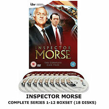 Inspector Morse Classic ITV TV Detective Series Complete Collection DVD Box Set