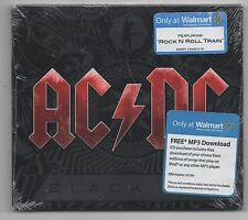 AC/DC Black Ice CD 2008 Limited Edition Walmart Exclusive Rock N Roll Train